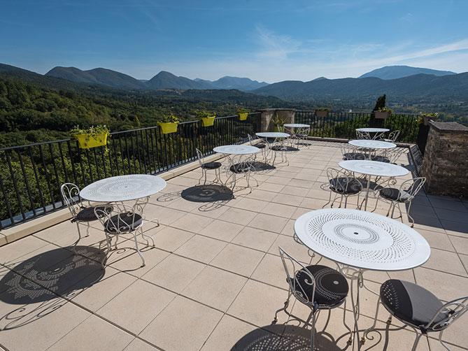 Vue à 360° sur un paysage provençal